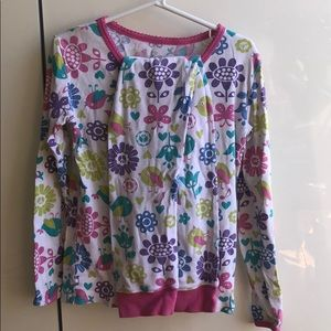Super Soft Bird & Flower Pajama Set